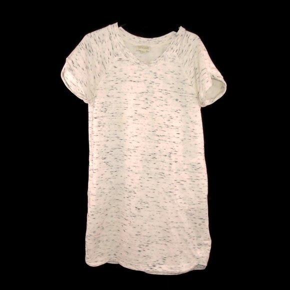 Lucy & Laurel Dresses & Skirts - Lucy & Laurel Sweat Shirt Dress M Short Sleeved